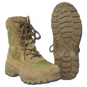 МІЛТЕК ЧЕРЕВИКИ TACTICAL SIDE ZIP BOOTS A-TACS FG 12822159