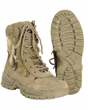 МІЛТЕК ЧЕРЕВИКИ TACTICAL SIDE ZIP BOOTS MULTICAM 12822141