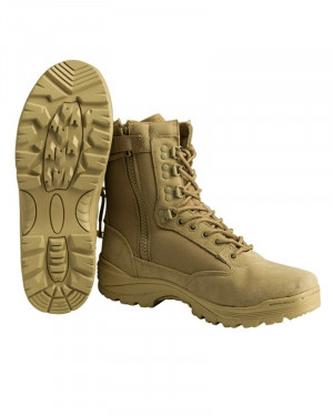 МІЛТЕК ЧЕРЕВИКИ TACTICAL SIDE ZIP BOOTS KHAKI 12822104