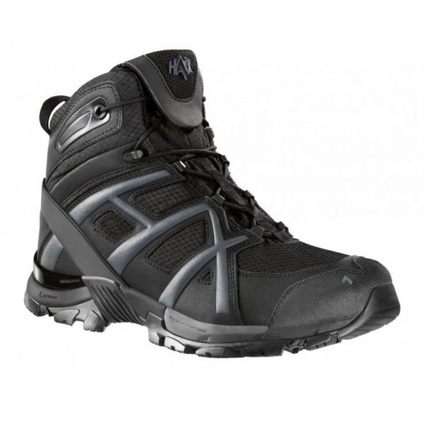 HAIX БОТИНКИ BLACK EAGLE ATHLETIC 10 MID BLACK 2000000011868