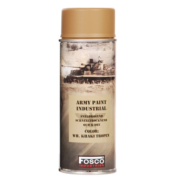 FOSCO ARMY PAINT SPRAY WH KHAKI TROPEN 400ML