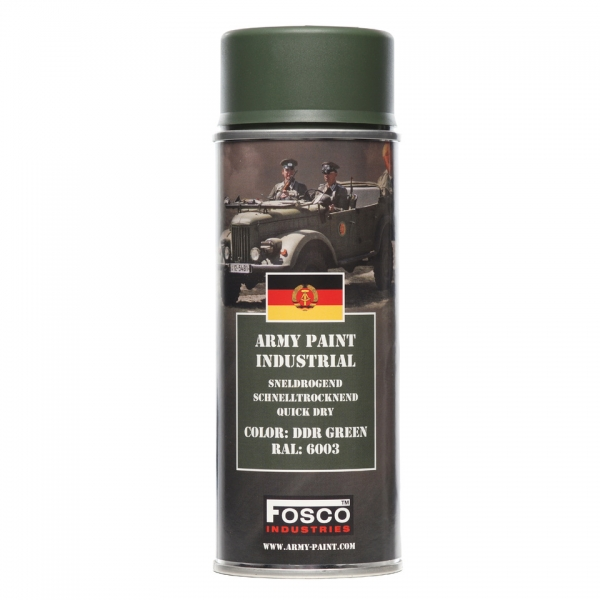 FOSCO PAINT SPRAY ARMY PAINT DDR GREEN 400 ML.