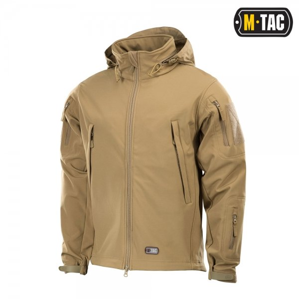 M-TAC КУРТКА SOFT SHELL TAN