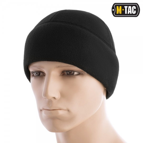 M-TAC ШАПКА WATCH CAP ФЛІС (260Г/М2) WITH SLIMTEX BLACK