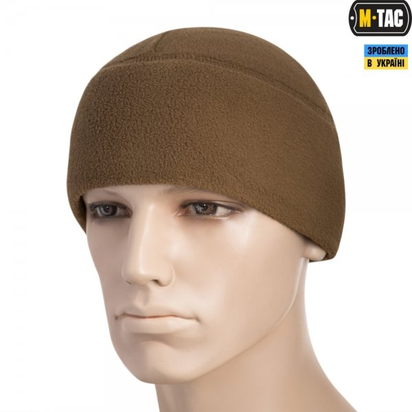 M-TAC ШАПКА WATCH CAP ФЛІС (260Г/М2) WITH SLIMTEX COYOTE