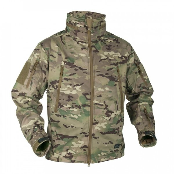 HELIKON-TEX КУРТКА GUNFIGHTER SHARK SKIN WINDBLOCKER MULTICAM H2317-14