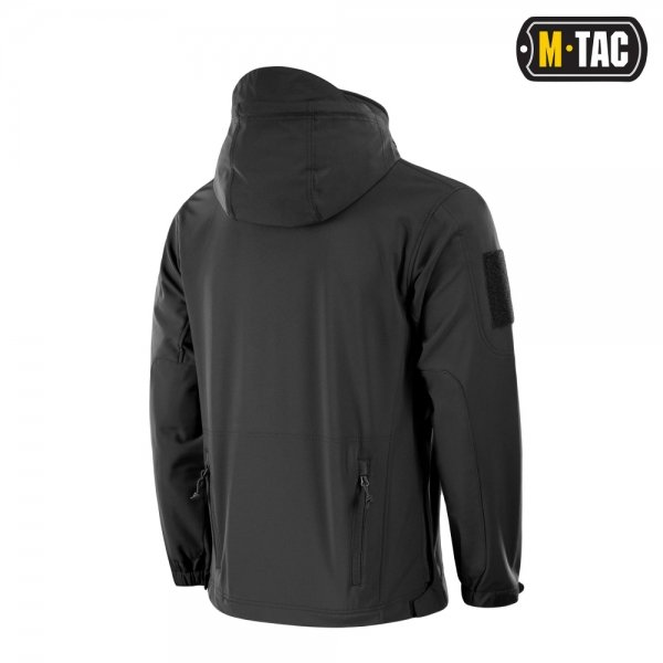 M-TAC КУРТКА SOFT SHELL POLICE BLACK