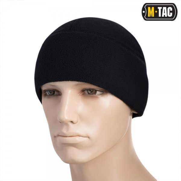 M-TAC ШАПКА WATCH CAP ФЛІС (260Г/М2) WITH SLIMTEX DARK NAVY BLUE