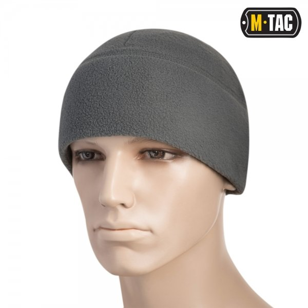 M-TAC ШАПКА WATCH CAP ФЛІС (260Г/М2) WITH SLIMTEX GREY