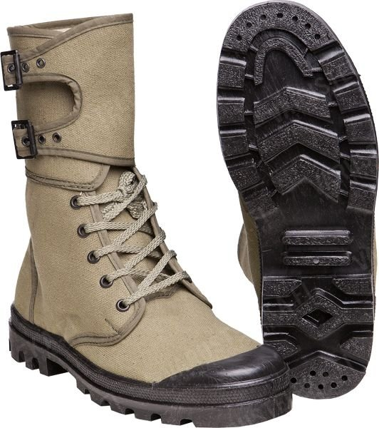 МІЛТЕК КЕДИ ФРАНЦУЗЬКІ FRENCH COMMANDO BOOTS WITH BUCKIES OLIVE 12830000