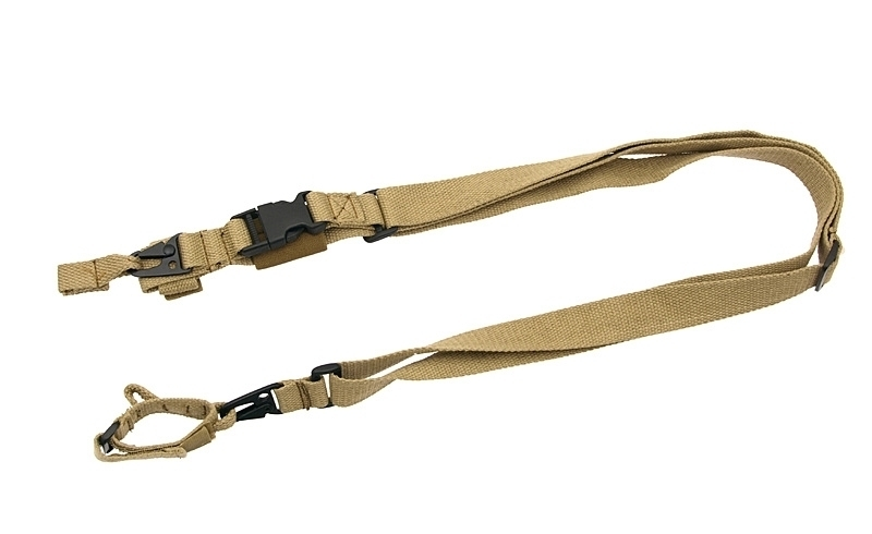 8FIELDS РЕМЕНЬ ТРЁХТОЧЕЧНЫЙ COTTON GUN SLING FOR MP5/G3/M4 SERIES COYOTE K17088-C