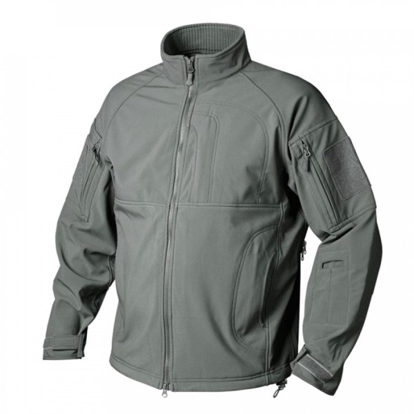 HELIKON-TEX КУРТКА COMMANDER SHARK SKIN WINDBLOCKER FOLIAGE GREEN H2337-21