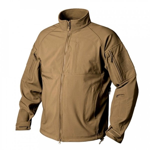 HELIKON-TEX КУРТКА COMMANDER SHARK SKIN WINDBLOCKER COYOTE H2337-11