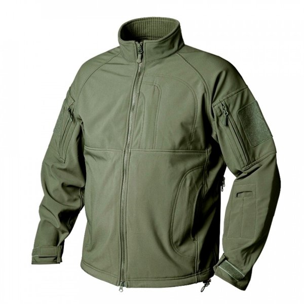 HELIKON-TEX КУРТКА COMMANDER SHARK SKIN WINDBLOCKER OLIVE GREEN H2337-02