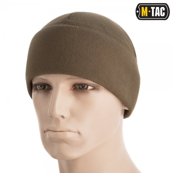 M-TAC ШАПКА WATCH CAP ELITE ФЛІС (260Г/М2) WITH SLIMTEX DARK OLIVE