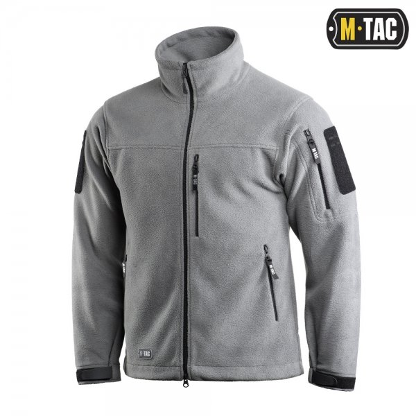 M-TAC КУРТКА ALPHA MICROFLEECE GEN.II LIGHT GREY