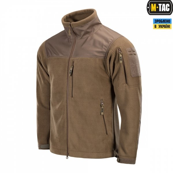 M-TAC КУРТКА ALPHA MICROFLEECE GEN.II DARK COYOTE
