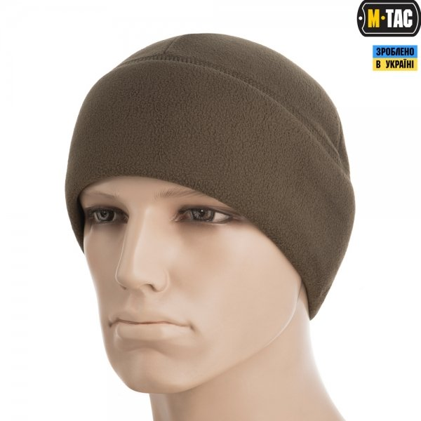 M-TAC ШАПКА WATCH CAP ELITE ФЛИС (340Г/М2) WITH SLIMTEX DARK OLIVE