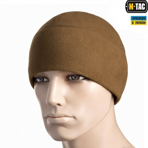M-TAC ШАПКА WATCH CAP ELITE ФЛІС WINDBLOCK 295 DARK COYOTE