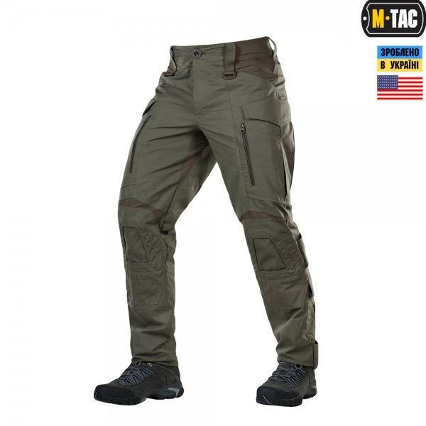 M-TAC БРЮКИ CONQUISTADOR MILITARY ELITE NYCO RANGER GREEN