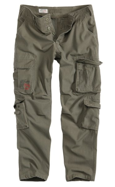 SURPLUS ШТАНИ AIRBORNE TROUSERS SLIMMY OLIVE 05-3603-61