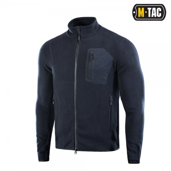 M-TAC КОФТА STEALTH MICROFLEECE GEN.II DARK NAVY BLUE
