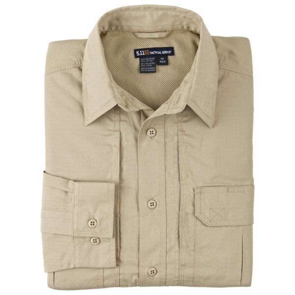 5.11 СОРОЧКА TACLITE PRO LONG SLEEVE SHIRT KHAKI 72175-162