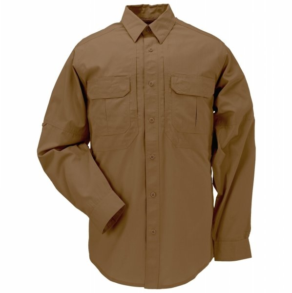 5.11 СОРОЧКА TACLITE PRO LONG SLEEVE SHIRT BATTLE BROWN 72175-116