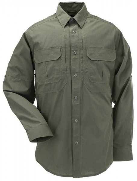 5.11 РУБАШКА TACLITE PRO LONG SLEEVE SHIRT TDU GREEN 72175-190