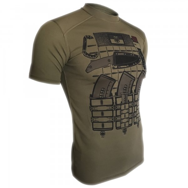 KRAMATAN TACTICAL DESIGN ФУТБОЛКА БРОНИК COOLMAX OLIVE