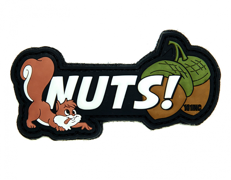 101 INC NUTS 3D PVC PATCH