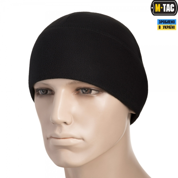 M-TAC ШАПКА WATCH CAP ELITE ФЛІС (260Г/М2) BLACK
