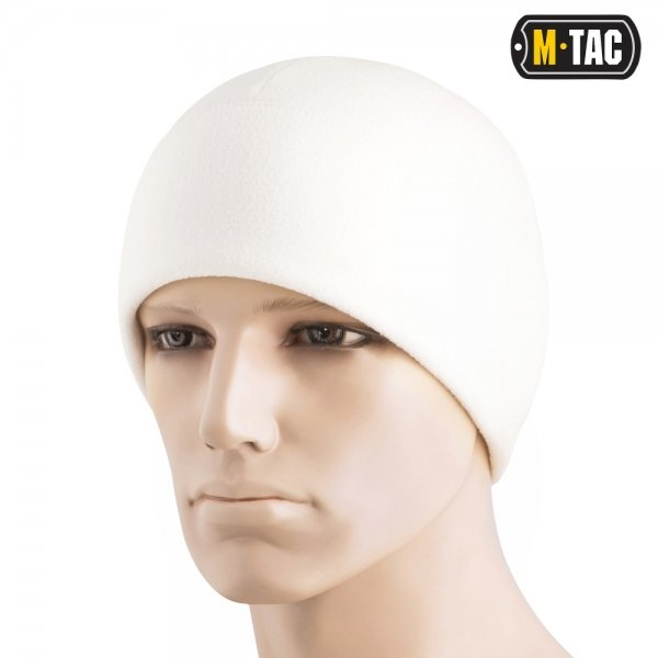 M-TAC ШАПКА WATCH CAP ELITE ФЛІС (260Г/М2) WITH SLIMTEX WHITE