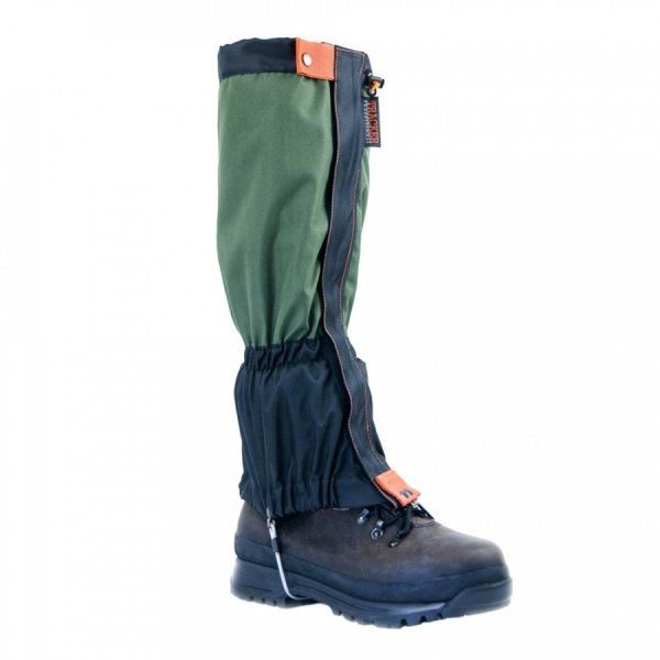 TRACKER ГАМАШИ SNOW BLACK/OLIVE GREEN T6700-16