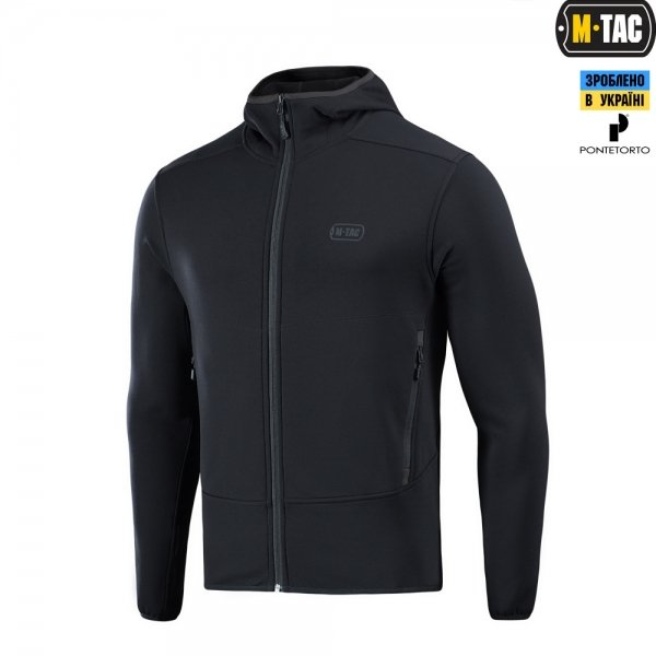 M-TAC КОФТА SHADOW MICROFLEECE BLACK