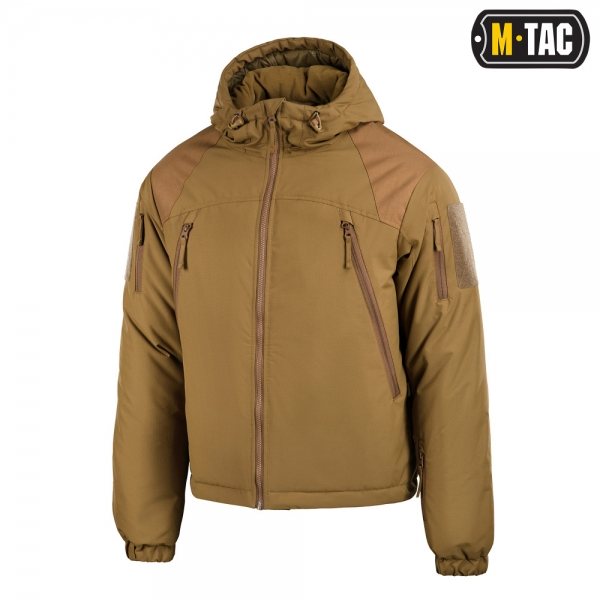 M-TAC КУРТКА ЗИМОВА ALPHA GEN.III COYOTE BROWN