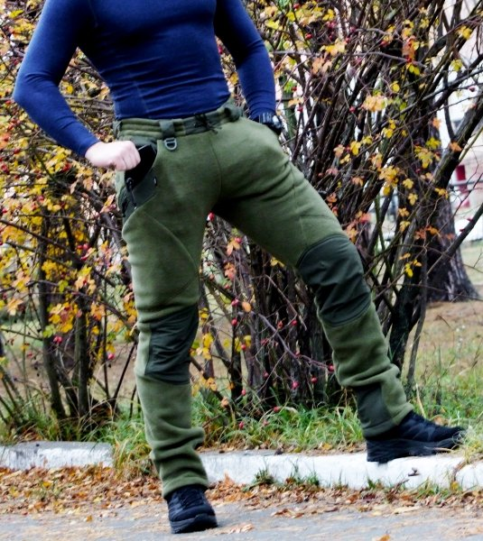 P1G-TAC БРЮКИ FROGMAN RANGE WORKOUT PANTS POLARTEC 200 OLIVE DRAB UA281-39951-OD