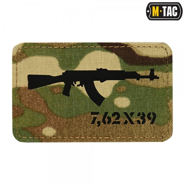 M-TAC НАШИВКА AKM LASER CUT BLACK/MULTICAM