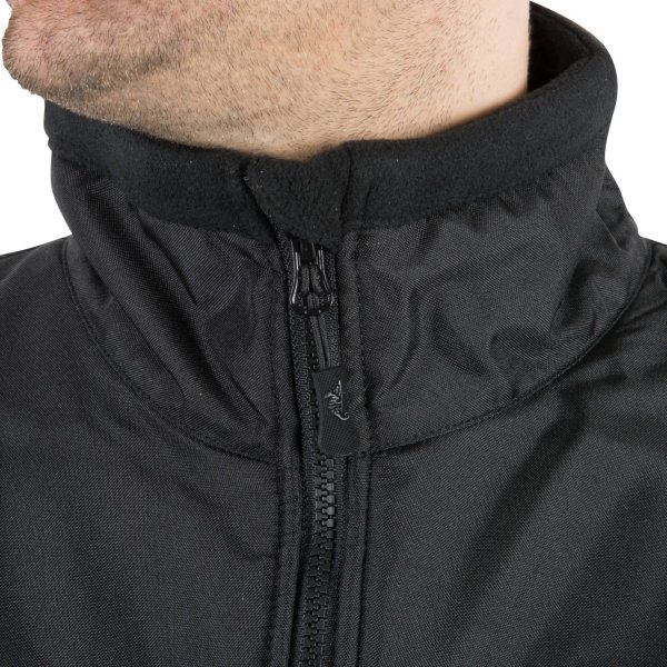 HELIKON-TEX КУРТКА DEFENDER QSA + HID - DUTY FLEECE BLACK H2107
