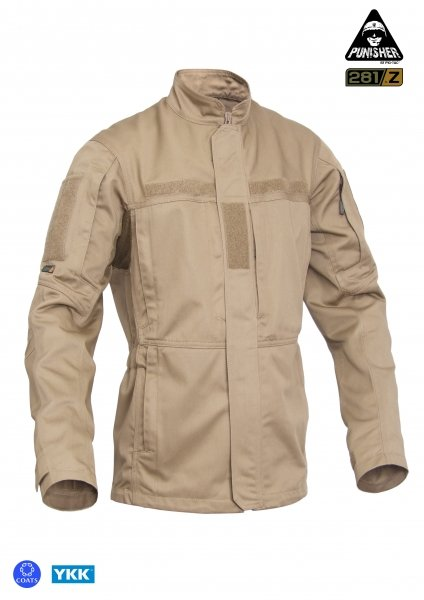 P1G-TAC КИТЕЛЬ PCJ-TWILL COYOTE BROWN UA281-29991-J6-CB