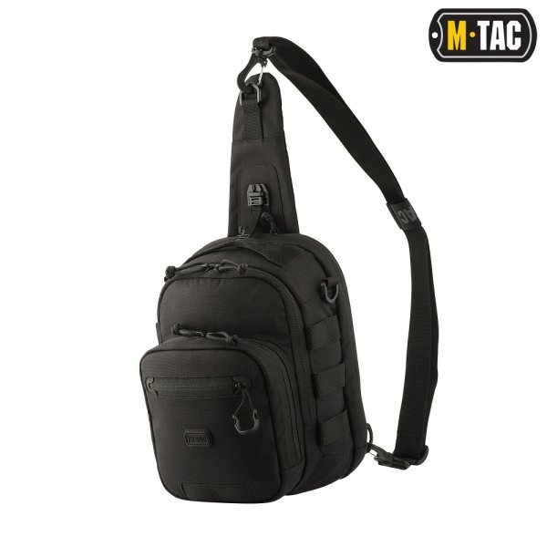 M-TAC СУМКА CROSS BAG CARABINER ELITE BLACK