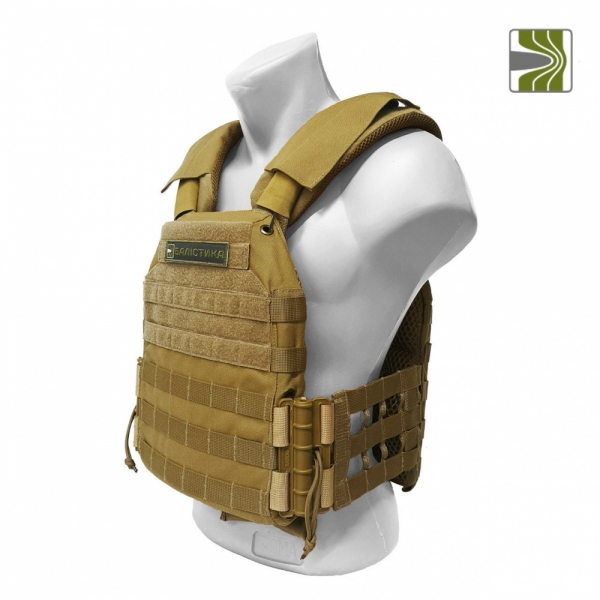 БАЛІСТИКА PLATE CARRIER MODEL M3 COYOTE