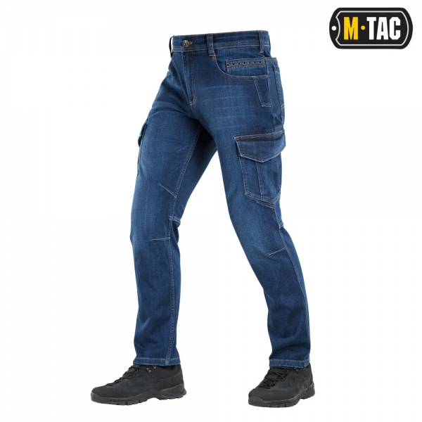 M-TAC ДЖИНСЫ SPARTAN DARK DENIM