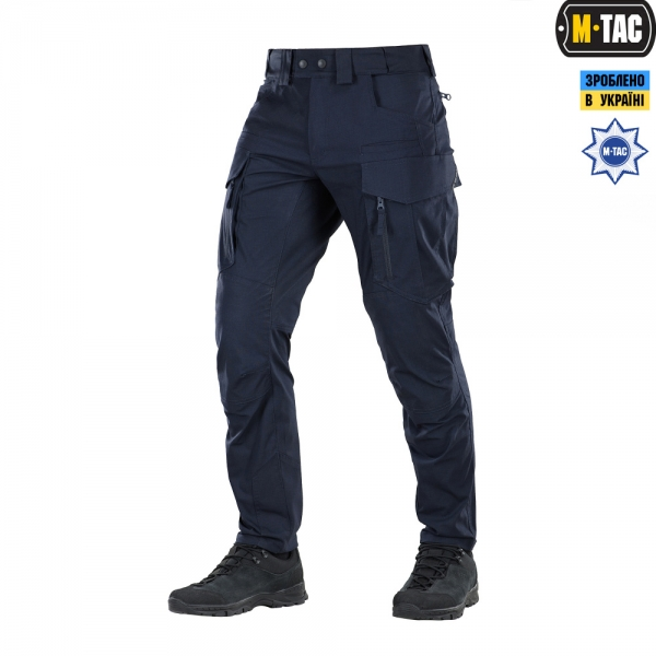 M-TAC БРЮКИ PATRIOT FLEX SPECIAL LINE DARK NAVY BLUE