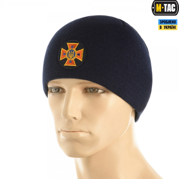 M-TAC ШАПКА ДСНС ТОНКА В'ЯЗКА 100% АКРИЛ DARK NAVY BLUE