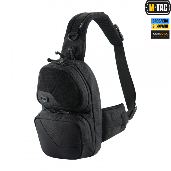 M-TAC СУМКА BUCKLER BAG ELITE HEX BLACK