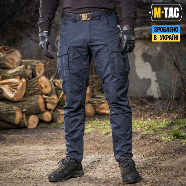 M-TAC БРЮКИ PATRIOT FLEX DARK NAVY BLUE