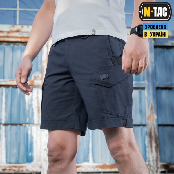 M-TAC ШОРТЫ AGGRESSOR LITE DARK NAVY BLUE