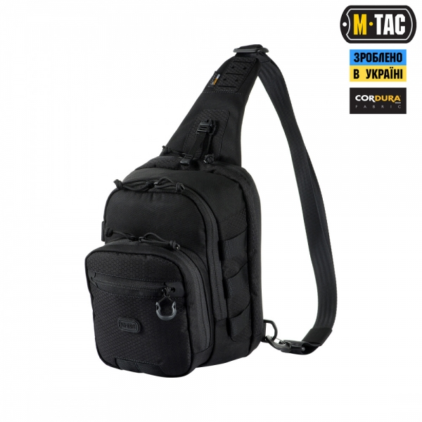 M-TAC СУМКА CROSS BAG ELITE HEX BLACK