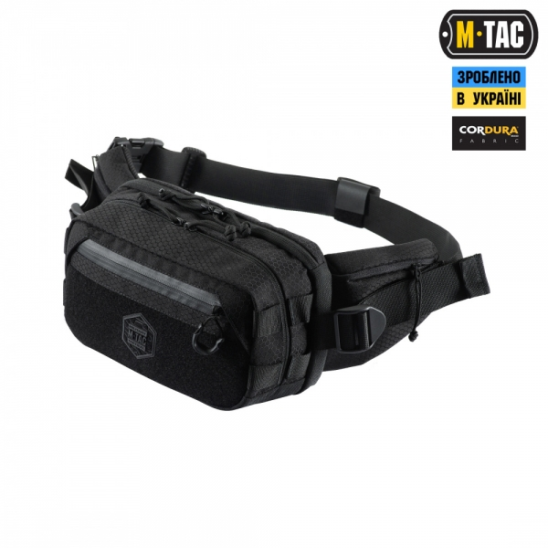 M-TAC СУМКА CITY CHEST PACK GEN.II ELITE HEX BLACK